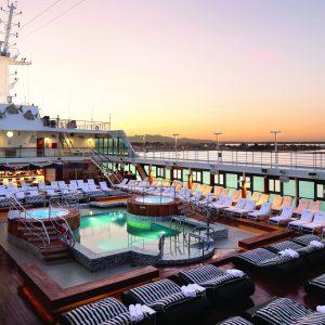 Pool Deck - Deck 9&10 Midship Insignia - Oceania Cruises