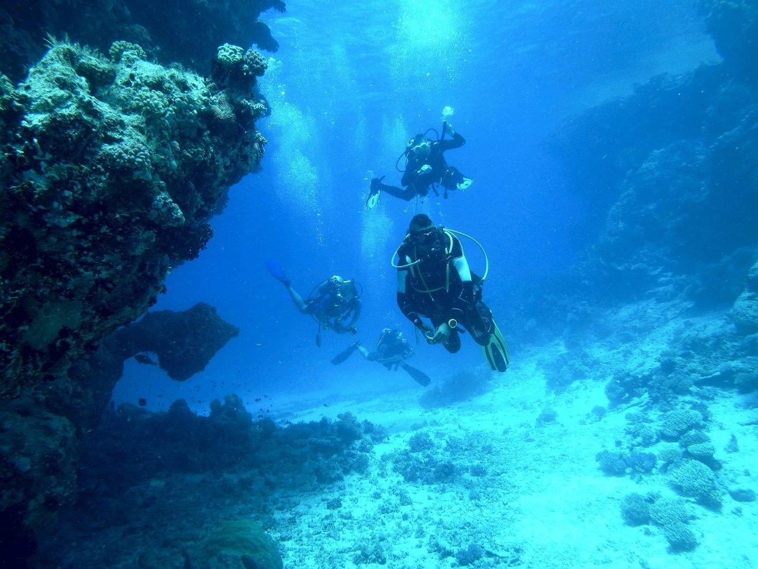 Diving in Croatia