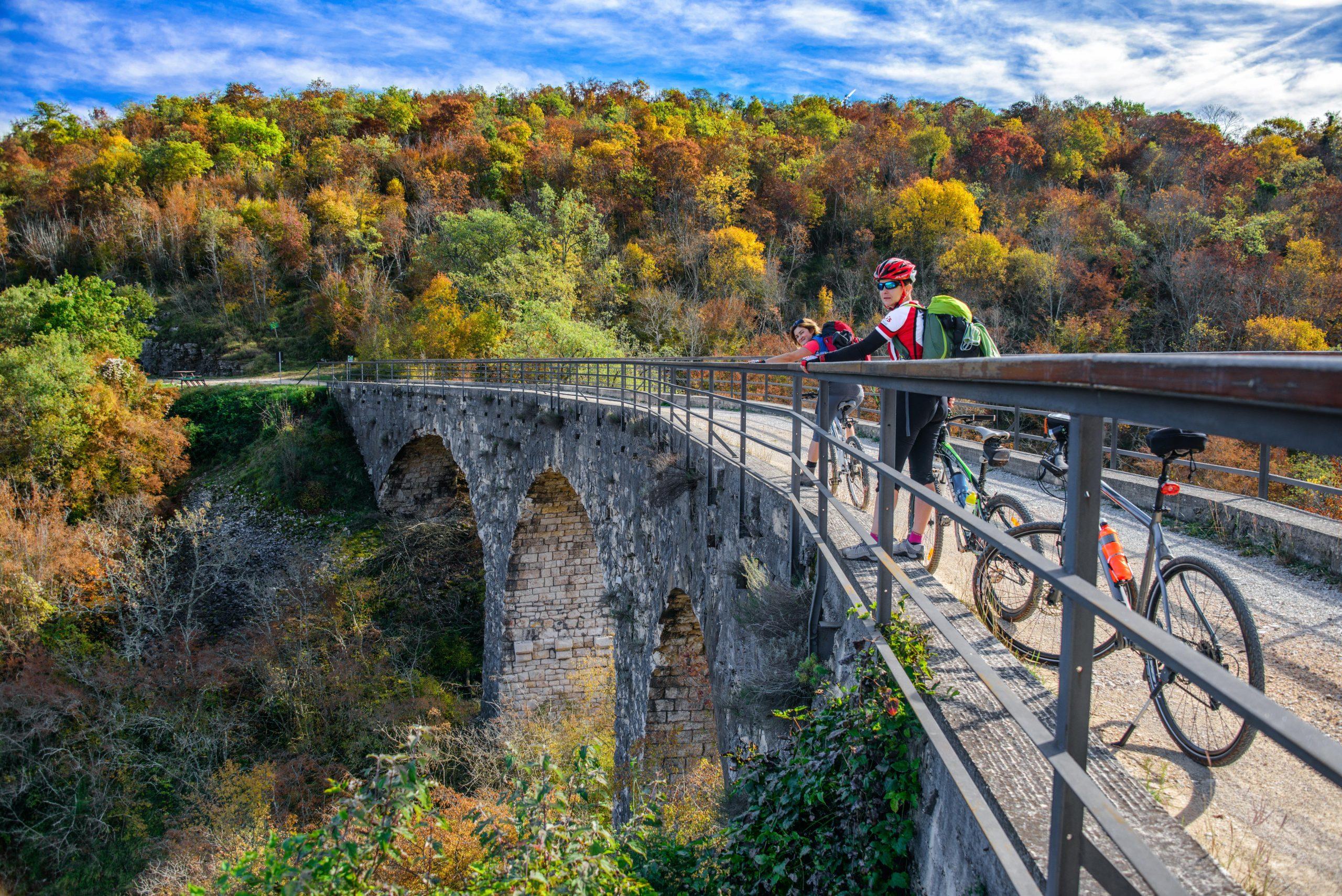 Parenzana Biking Trail Croatia