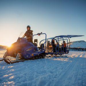Snow train Lapland
